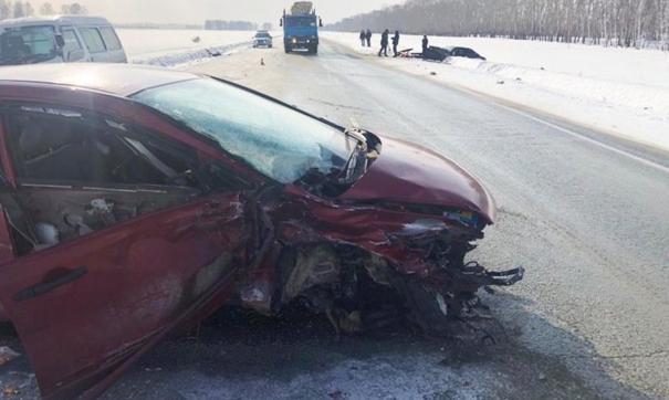 В Новосибирской области произошло тройное ДТП