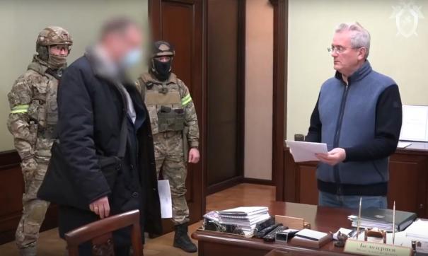 Арест Белозерцева