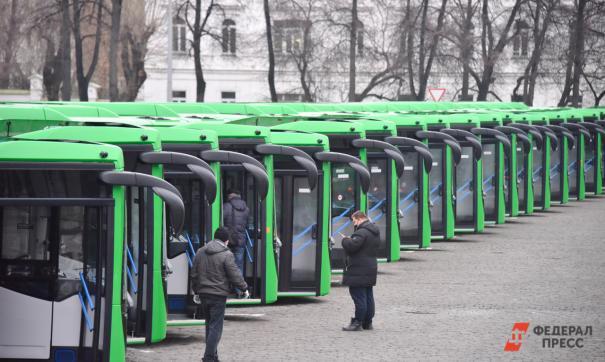 В Екатеринбург прибудут 60 новых автобусов