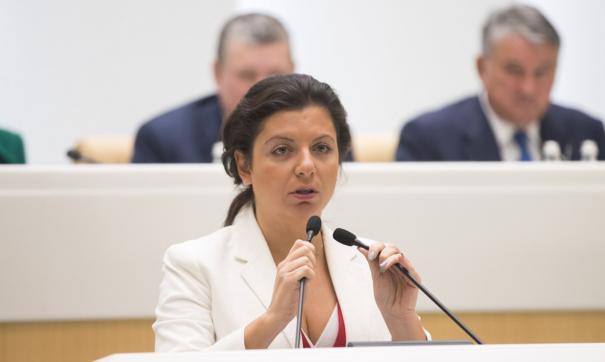 Симоньян прокомментировала продление украинских санкций против «Россия сегодня»