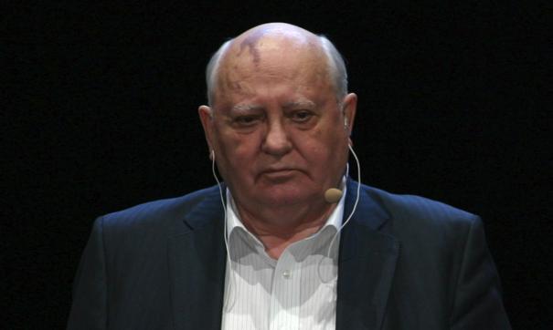 Горбачев ответил на поздравление президента США