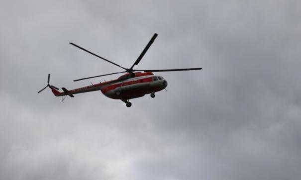 Вертолет МЧС упал под Калининградом