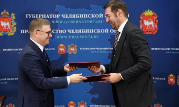 Алексей Текслер и президент АО «ЭР-Телеком Холдинг» Андрей Кузяев подписали соглашение о сотрудничестве