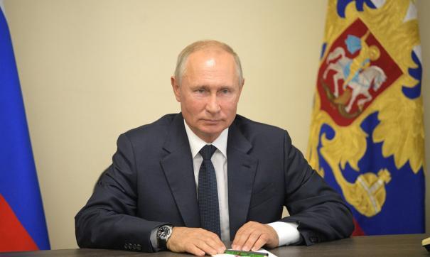 «Будьте счастливы»: Путин поздравил россиянок с 8 марта