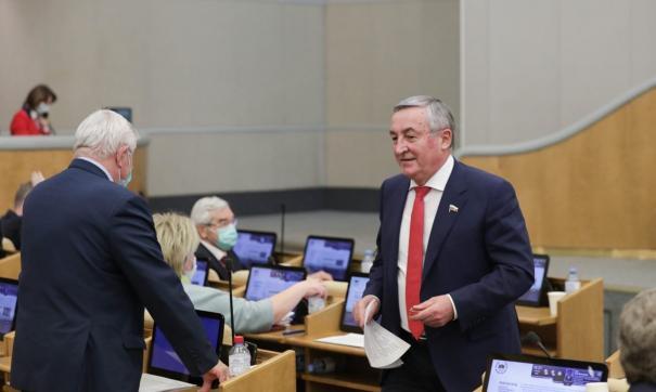 Депутат ГД Юрий Бобрышев