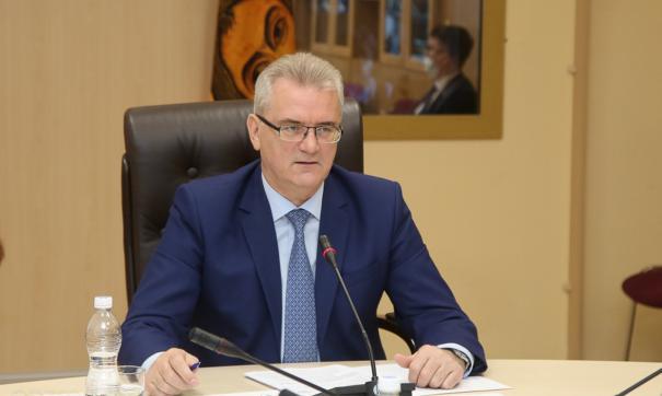 Иван Белозерцев выступит с инвестиционным посланием