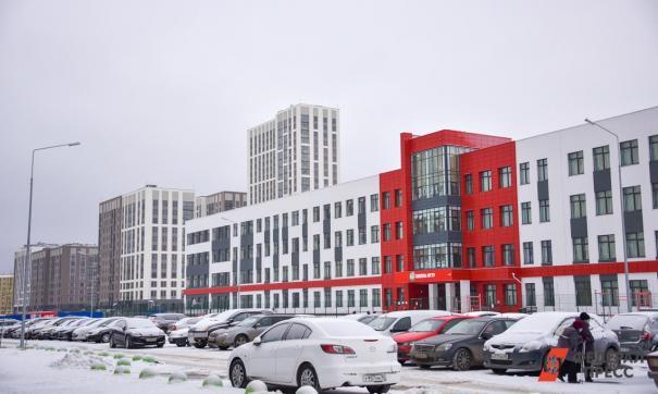 В Академическом строят школу и четыре детских сада