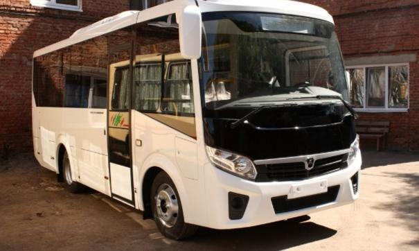 Автобус будет перевозить по 50 детей ежедневно