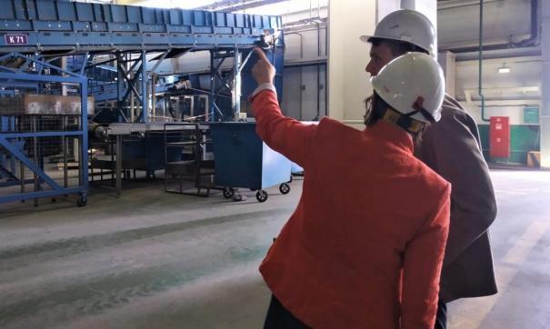 Завод работает и на отечественном, и на зарубежном оборудовании