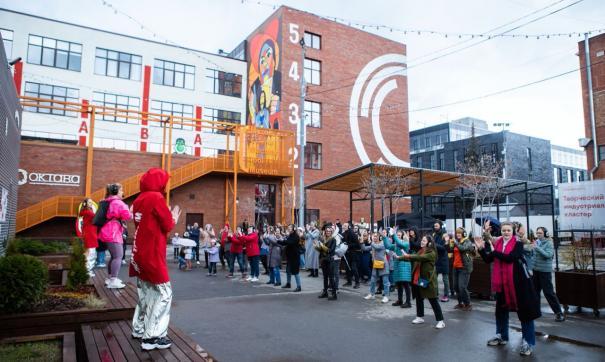 Гости побывали на концерте «Касты» и пообщались с художниками и музыкантами