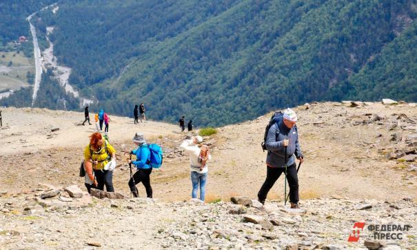 Туристы в Кабардино-Балкарии