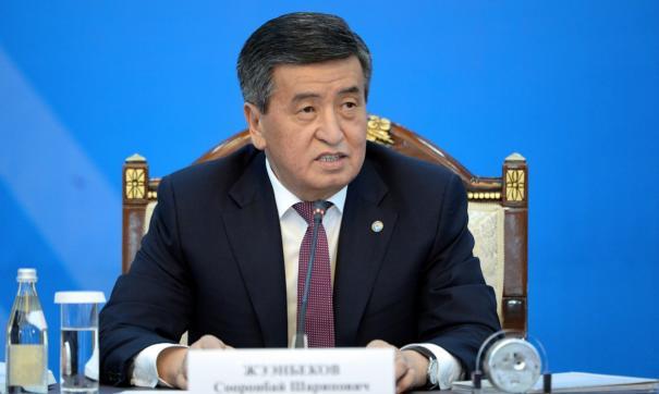 Президент Киргизии