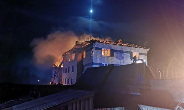 Взрыв газа в селе Маргуша
