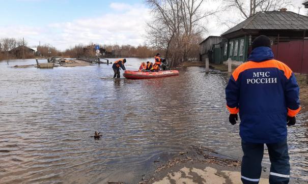 Пик паводка в Свердловской области придется на ближайшие 3 дня
