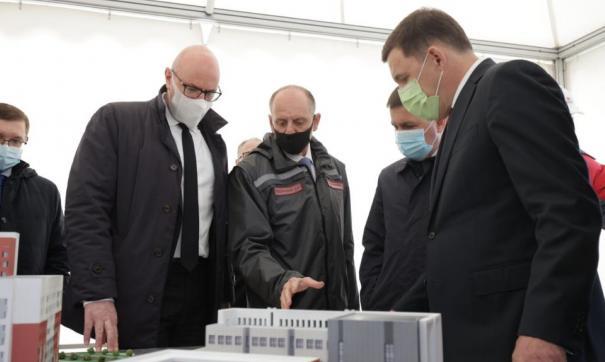 Вице-премьер инспектирует строящиеся объекты