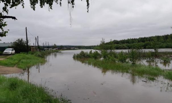 В Хабаровском крае затопило несколько сел и дорог