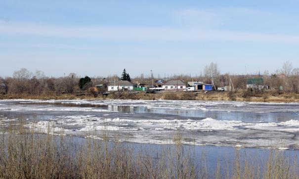 Вода в Томи в Новокузнецке продолжает подниматься