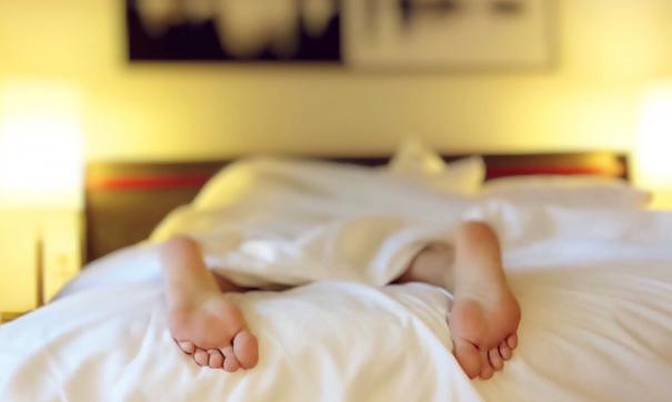 Спящий человек