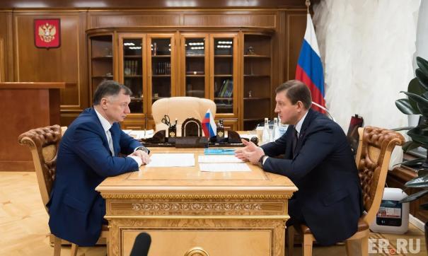 Андрей Турчак встретился с главой Минстроя РФ Маратом Хуснуллиным