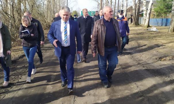 Сергей Ситников приехал в Буйский район с рабочим визитом
