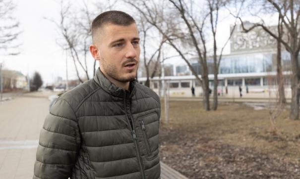 Даниэль Мишкич - о первых месяцах жизни в Екатеринбурге