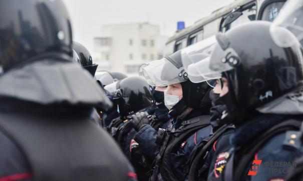 Полиция намерена пресекать агрессивные действия участников протеста