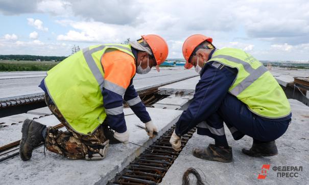 Строительство транспортной развязки в Ольгине ведется в рамках проекта «Безопасные качественные дороги»