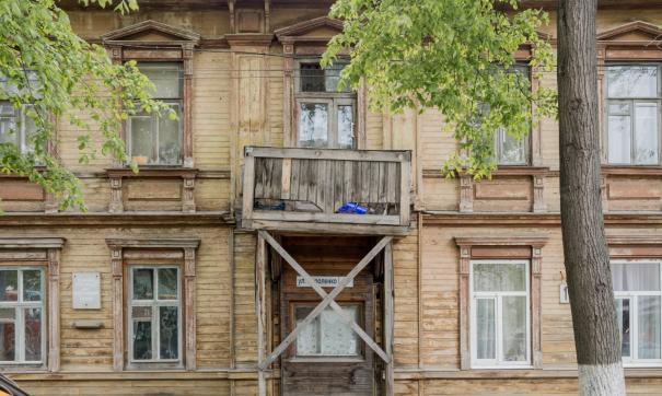 Планируется восстановить балкон исторического дома, в котором жил Максим Горький и бывал Федор Шаляпин