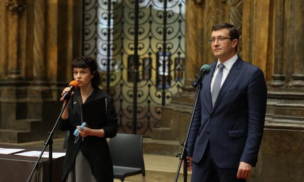 Глава региона Глеб Никитин стал участником пресс-конференции, посвященной премии «Инновация»