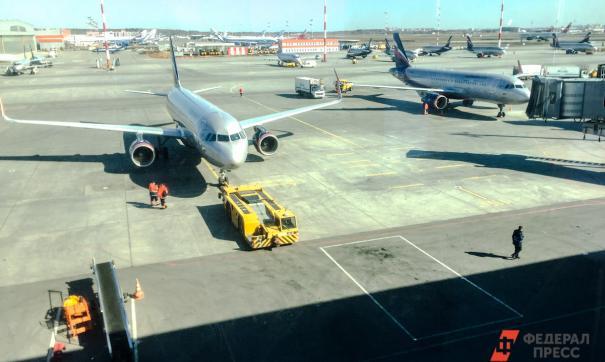 Посадку без участия шасси удалось совершить учебному самолету