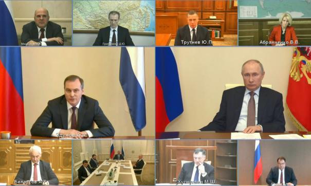 Артем Здунов представил идеи по оздоровлению финансовой системы регионов на встрече с президентом России