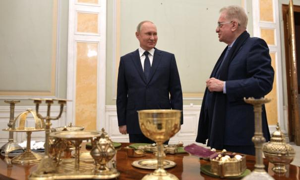 Путин и Пиотровский
