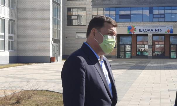 Евгений Куйвашев пообщался с будущим юристом из Невьянска