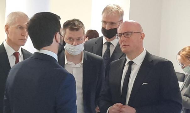 Дмитрий Чернышенко обсудил саммит в Екатеринбурге