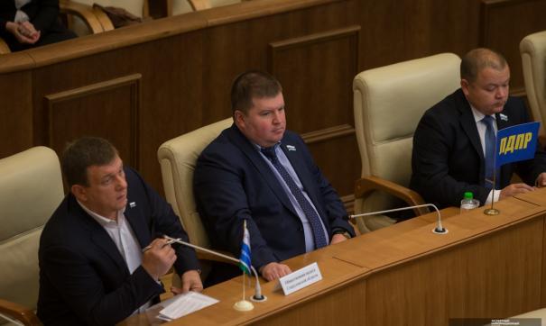 Кирилл Некрасов недавно возглавил фракцию ЛДПР