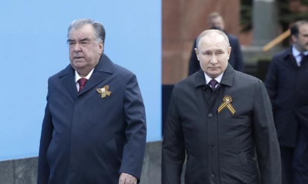 Путин и Рахмонов