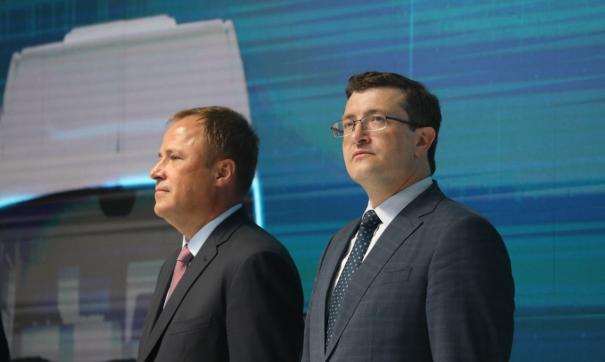 В запуске серийного производства авто поучаствовал губернатор Глеб Никитин