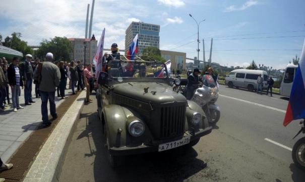 парад во Владивостоке
