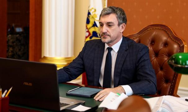 Губернатор Приамурья Василий Орлов сегодня отчитался о работе правительства