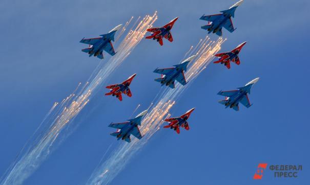 «Стрижи» покажут высший пилотаж жителям пяти городов Кузбасса