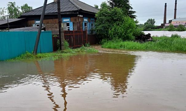 Кызыльских дачников призывают эвакуироваться из зоны возможного подтопления