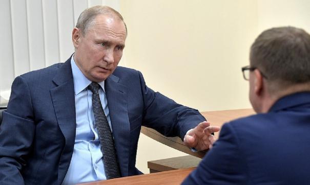 Владимир Путин на встрече