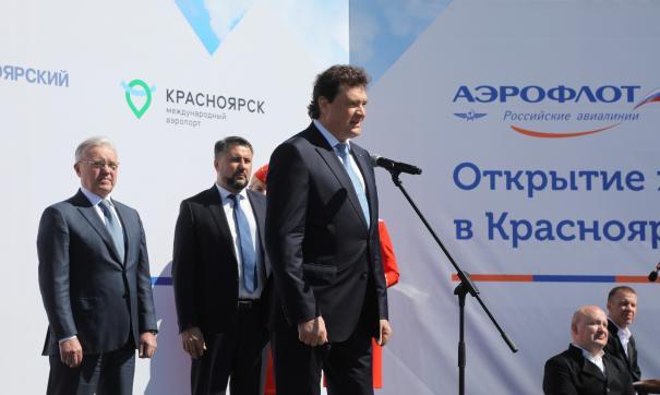 В Красноярске начинают базироваться три самолета «Боинг 737»