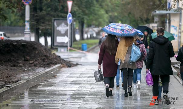 В столице ожидается дождь