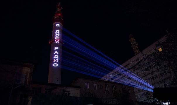 Башня будет транслировать поздравление весь вечер