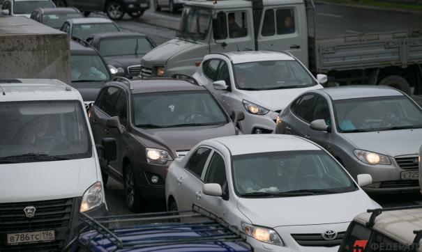 Транспортный коллапс возник больше часа назад