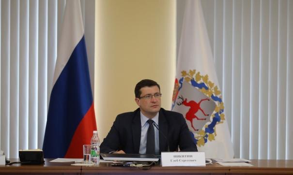 Глава региона Глеб Никитин