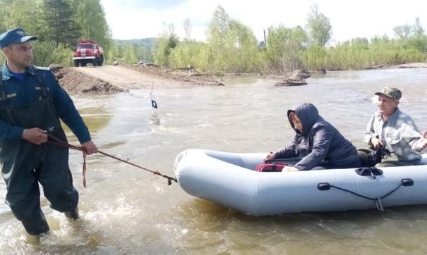 Паводок в Красноярском крае
