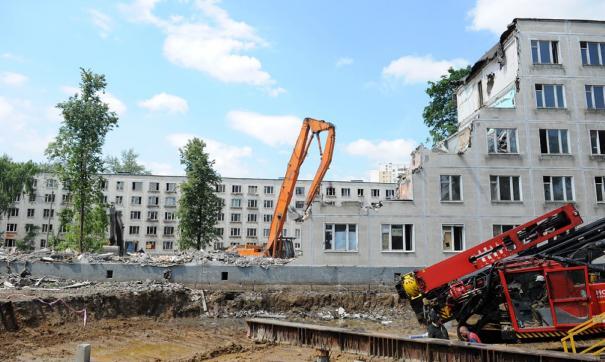 Под снос могут попасть первые пятиэтажные дома