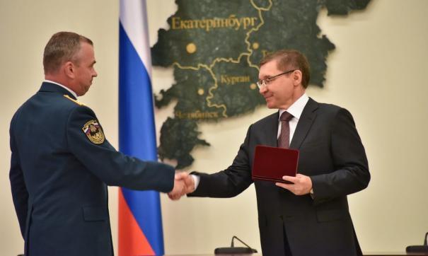 Награды вручал полпред Владимир Якушев